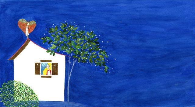 Ilustrație de Cristiana Radu din cartea Simplu 2 de Cristela Georgescu