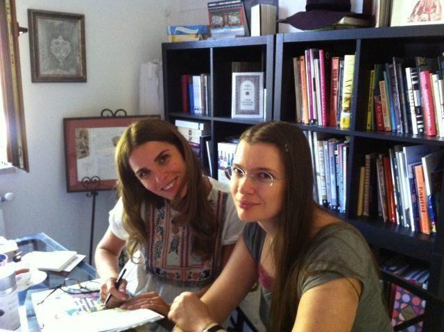 Cristela Georgescu si Cristiana Radu la Baroque Books & Arts, septembrie 2017
