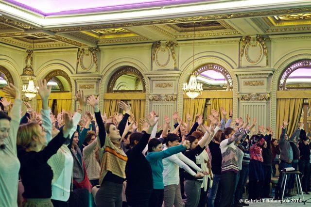 Conferința de sănătate și nutriție holistică, noiembrie 2014