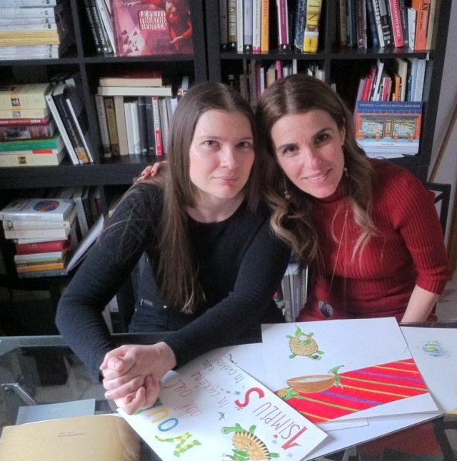 Cristela Georgescu și Cristiana Radu la Baroque Books & Arts, martie 2018