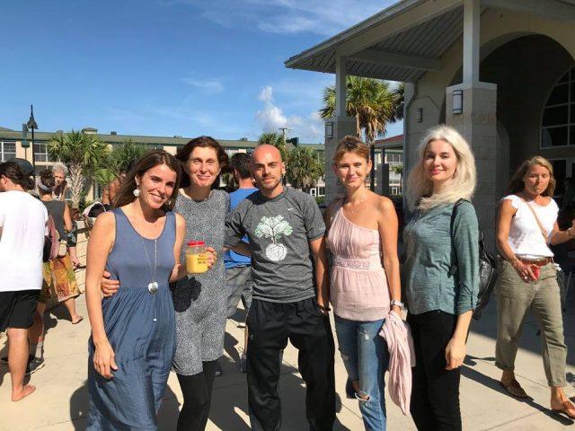 De la dreapta la stânga: Anemona, Doina, Bogdan, Sorina, Cristela